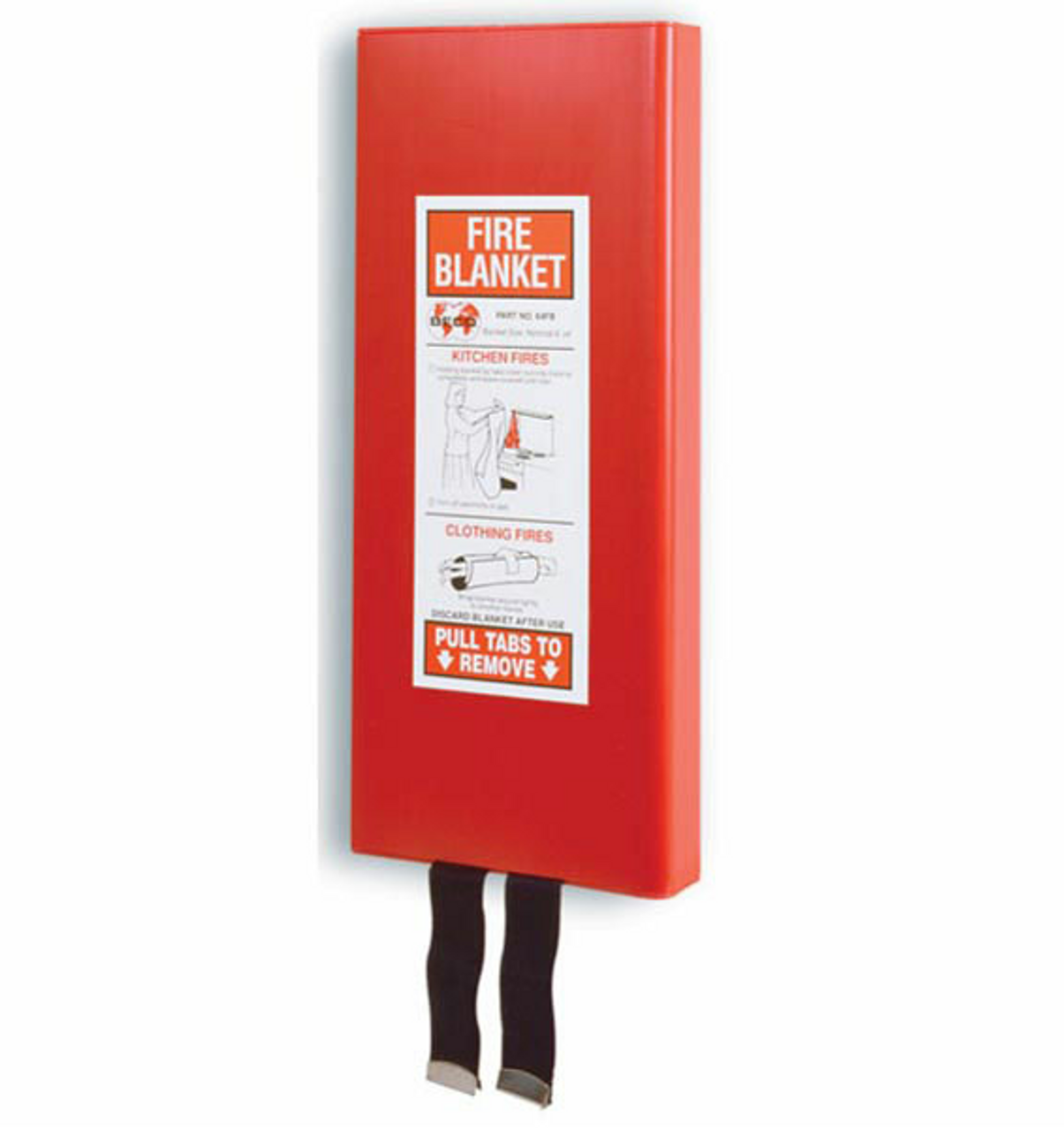 64FB - Fiberglass Fire Blanket and Cabinet