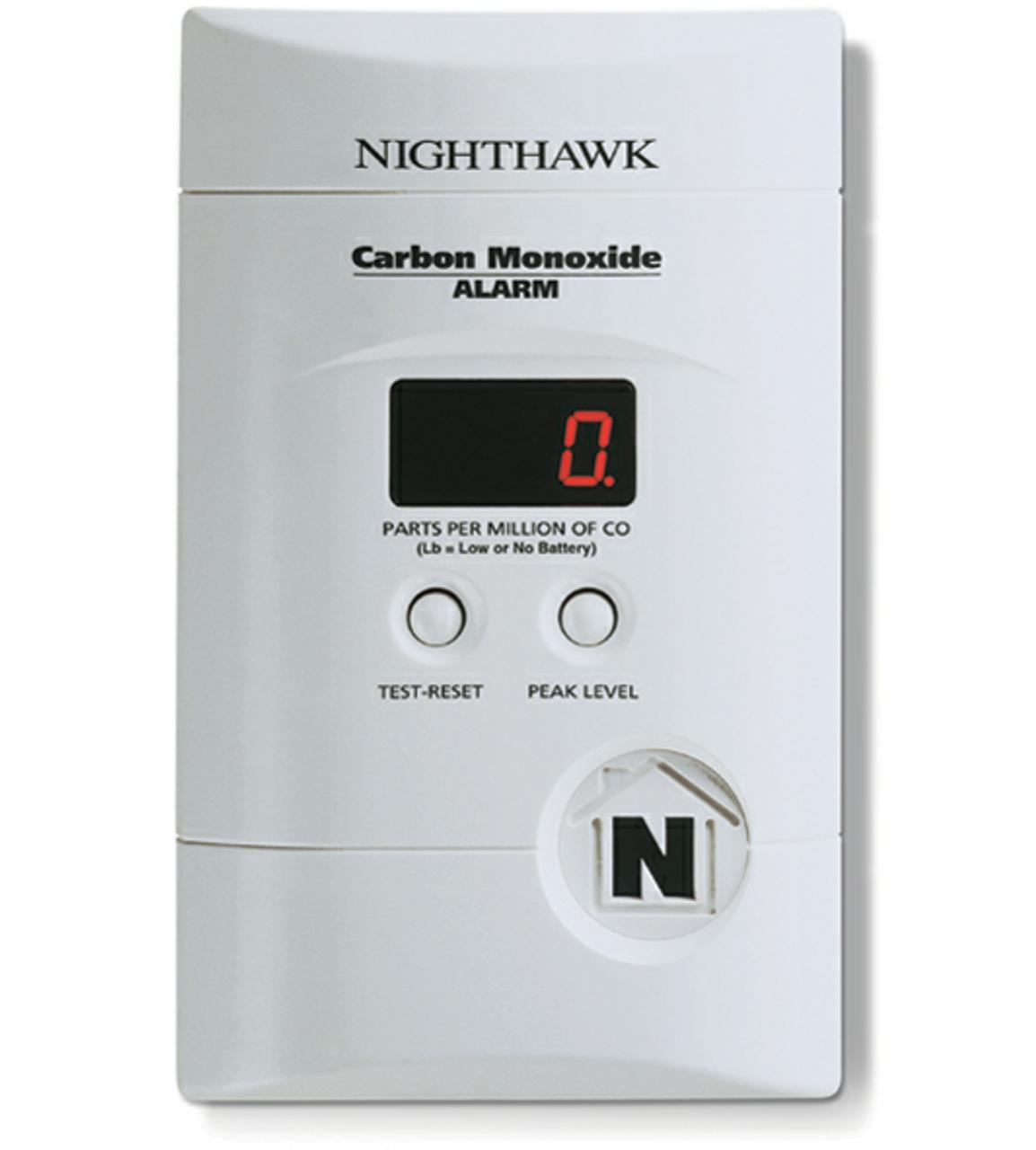 Kidde NHDELUXE - NightHawk™ AC/DC Deluxe CO Alarm