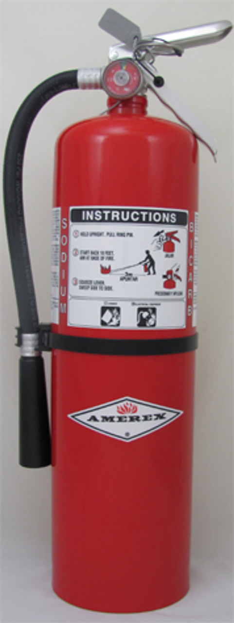 Amerex B457 - 10 lb Regular BC Dry Chemical Fire Extinguisher