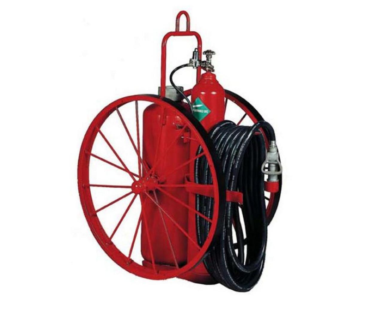 Badger 145 lb Dry Chemical Wheeled Extinguisher