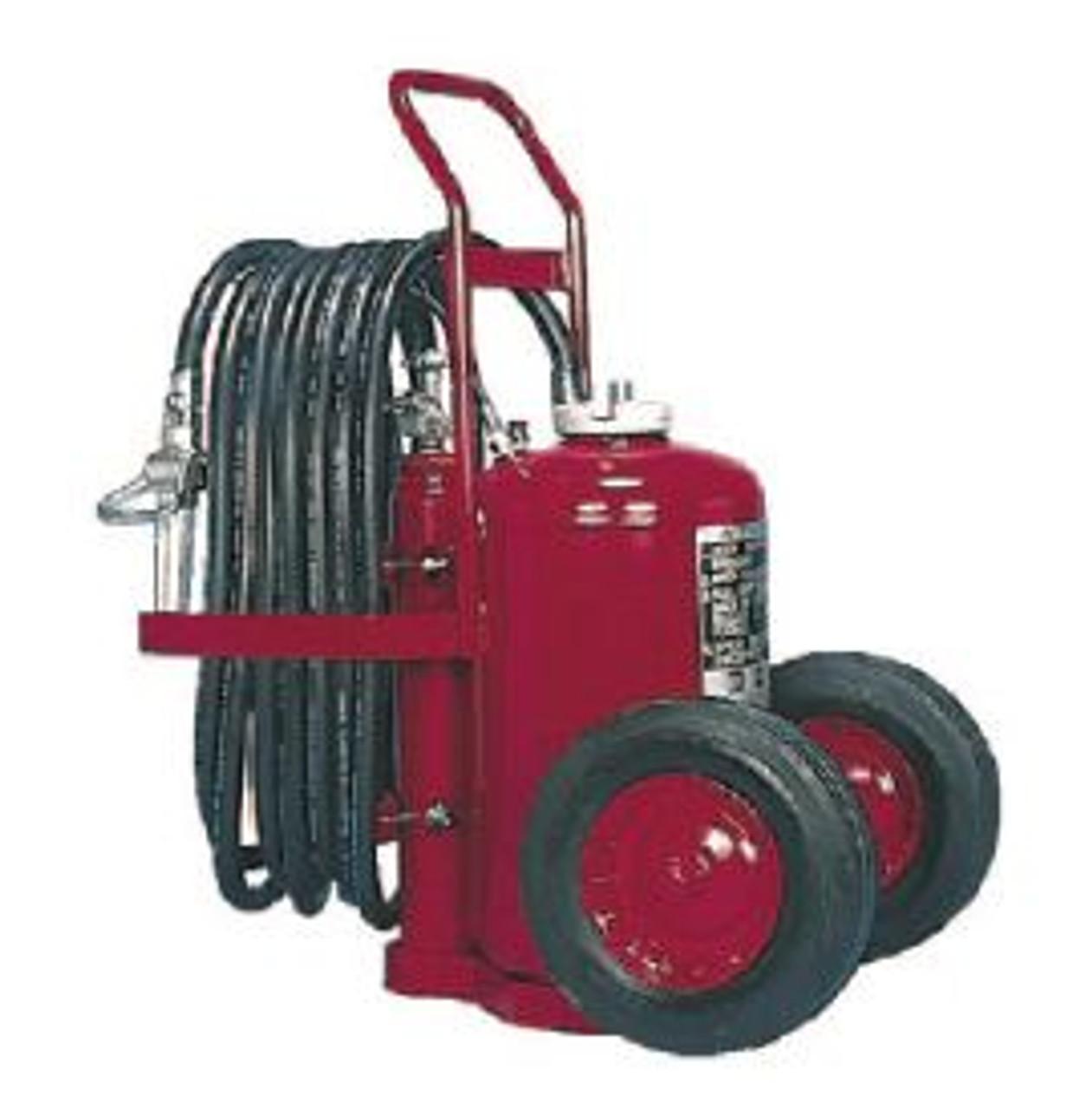 Amerex 451 - Nitrogen Cylinder Wheeled Fire Extinguisher - BC