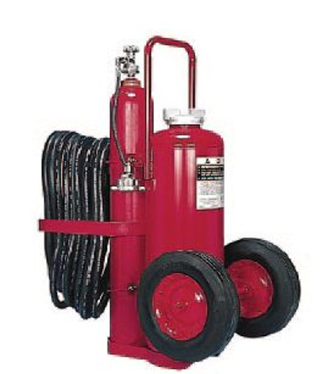 Amerex 468 - 150 LB Nitrogen Cylinder Wheeled Fire Extinguisher