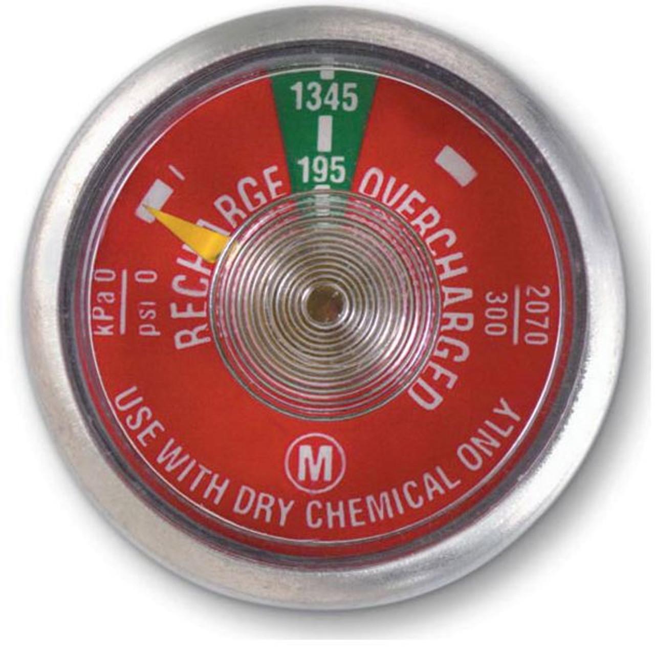 Kidde 293266K - 195 lb Dry Chemical Fire Extinguisher Gauge