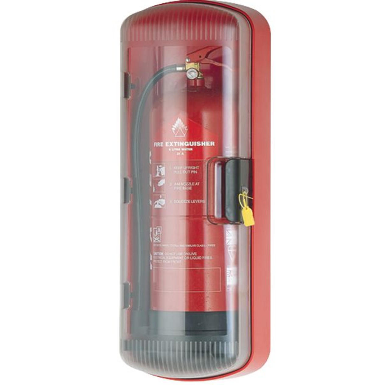 FT101 - FireTech ABS Fire Extinguisher Cabinet