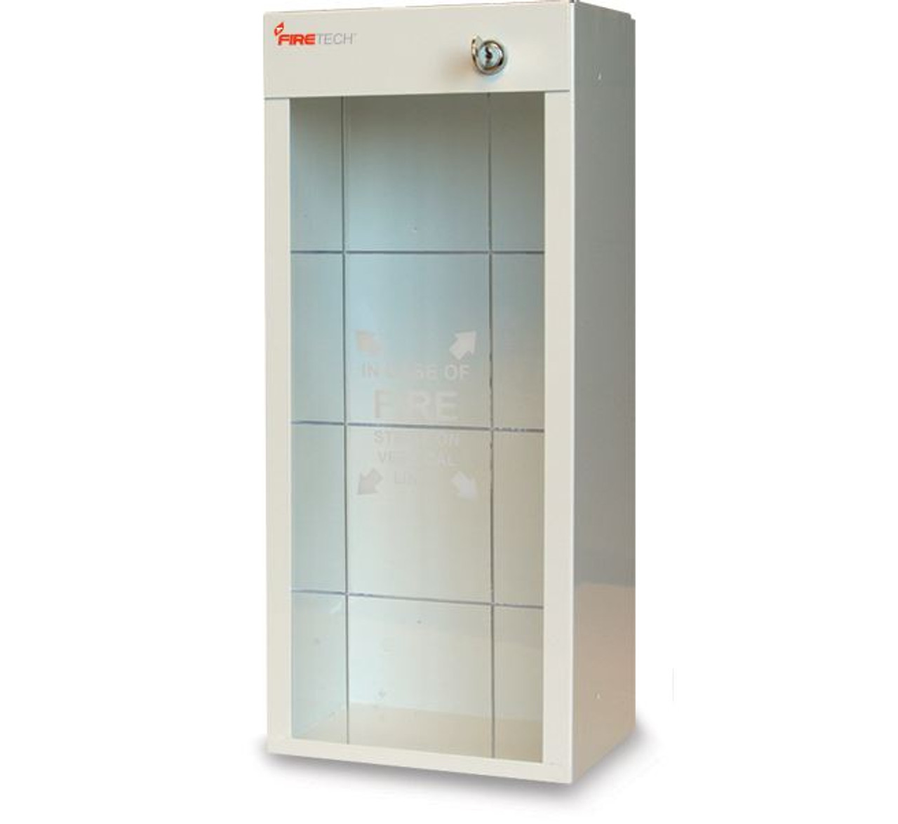 FT916 - Short FireTech Metal Extinguisher Cabinet