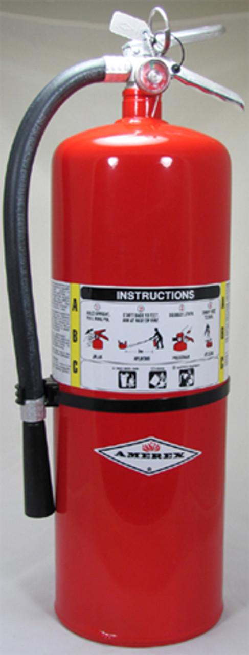 Amerex A411 - 20 lb ABC Extinguisher w/ Aluminum Valve