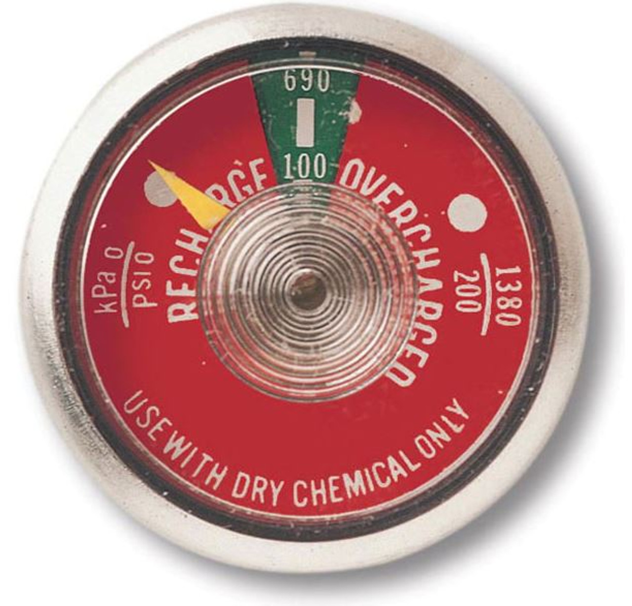 G100 100 lb Dry Chemical Fire Extinguisher Gauge