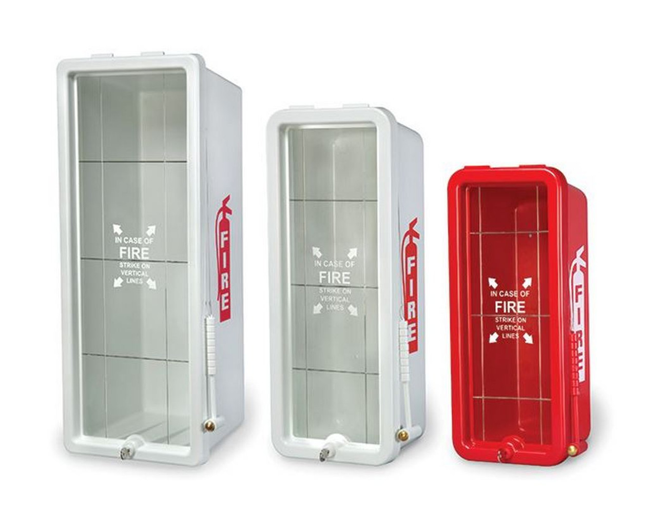 FireTech Fire Extinguisher Cabinets FT-POLY-CAB