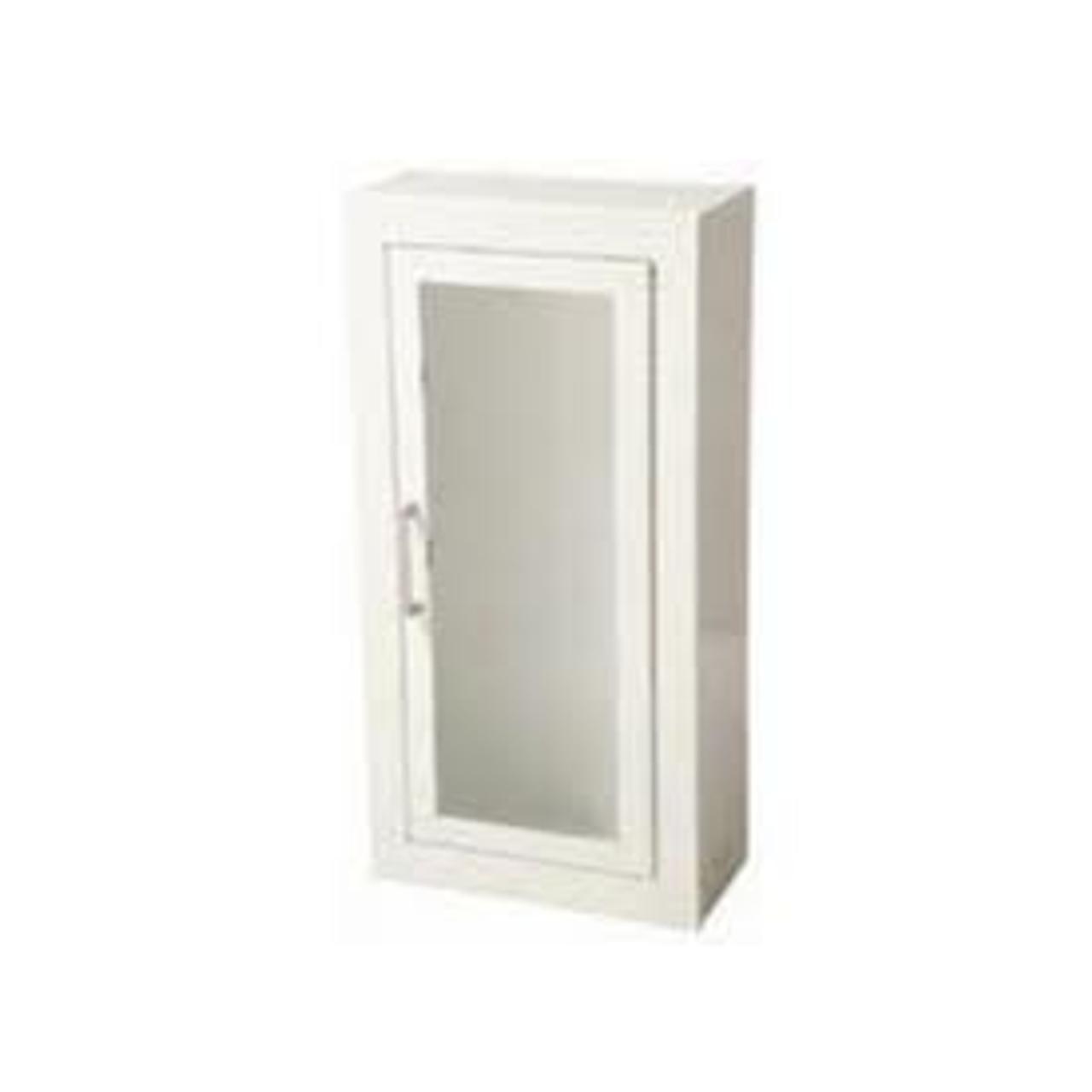 8115 Flat Trim Steel Cabinet