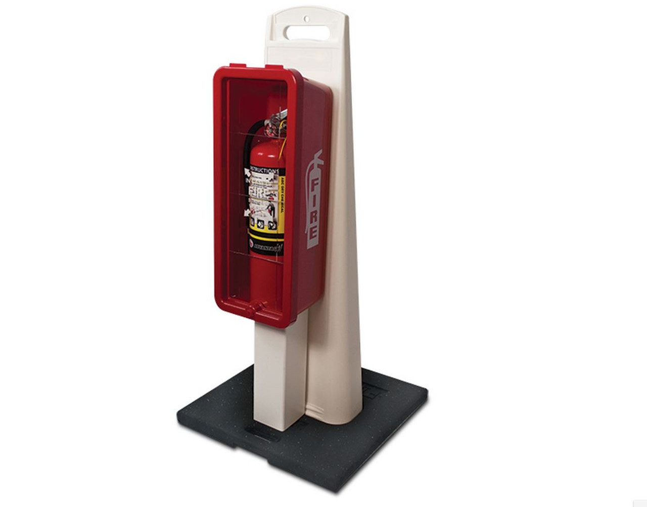 PORTABLE EXTINGUISHER CABINET & STAND