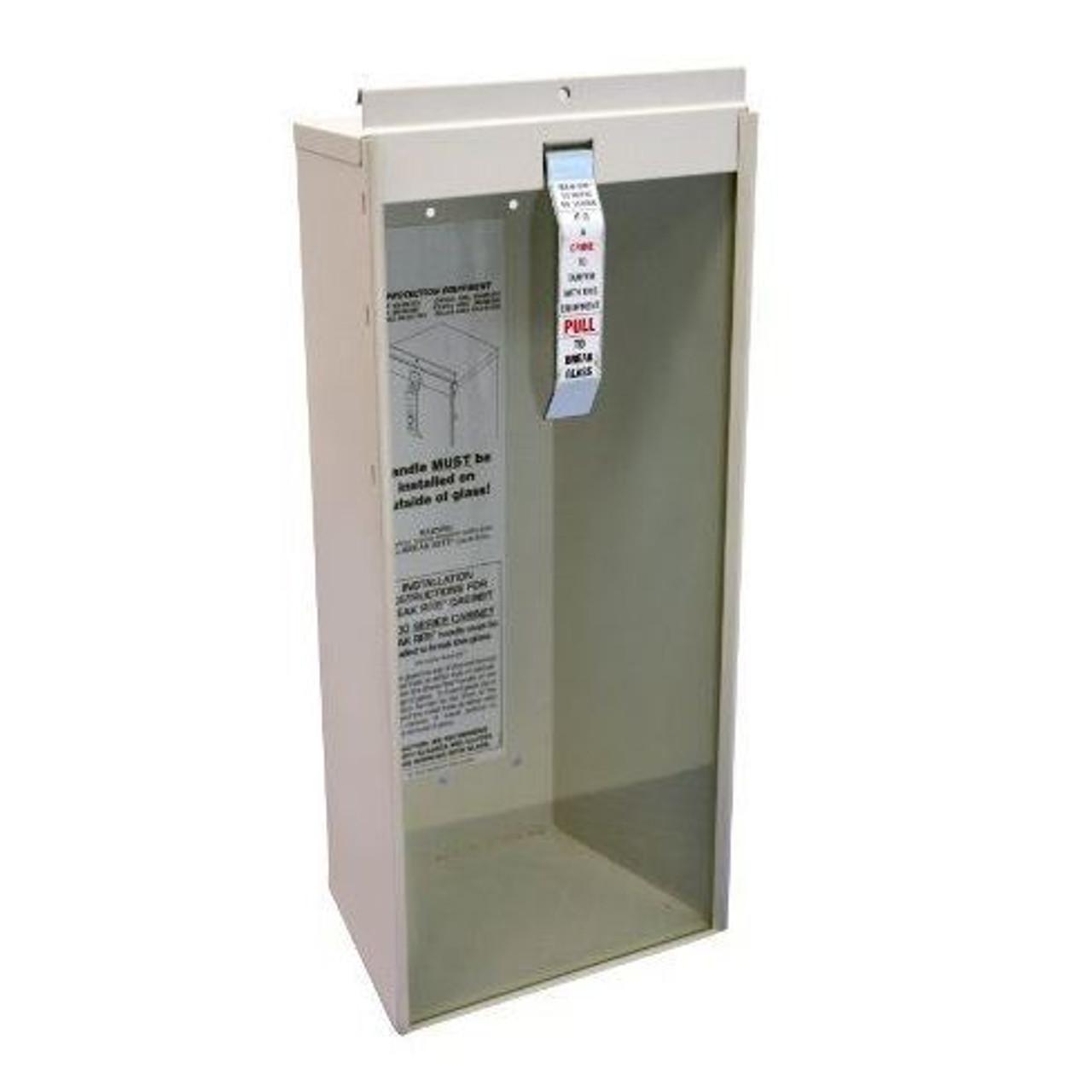 9752 Potter Roemer Metal 10 LB Fire Extinguisher Cabinet