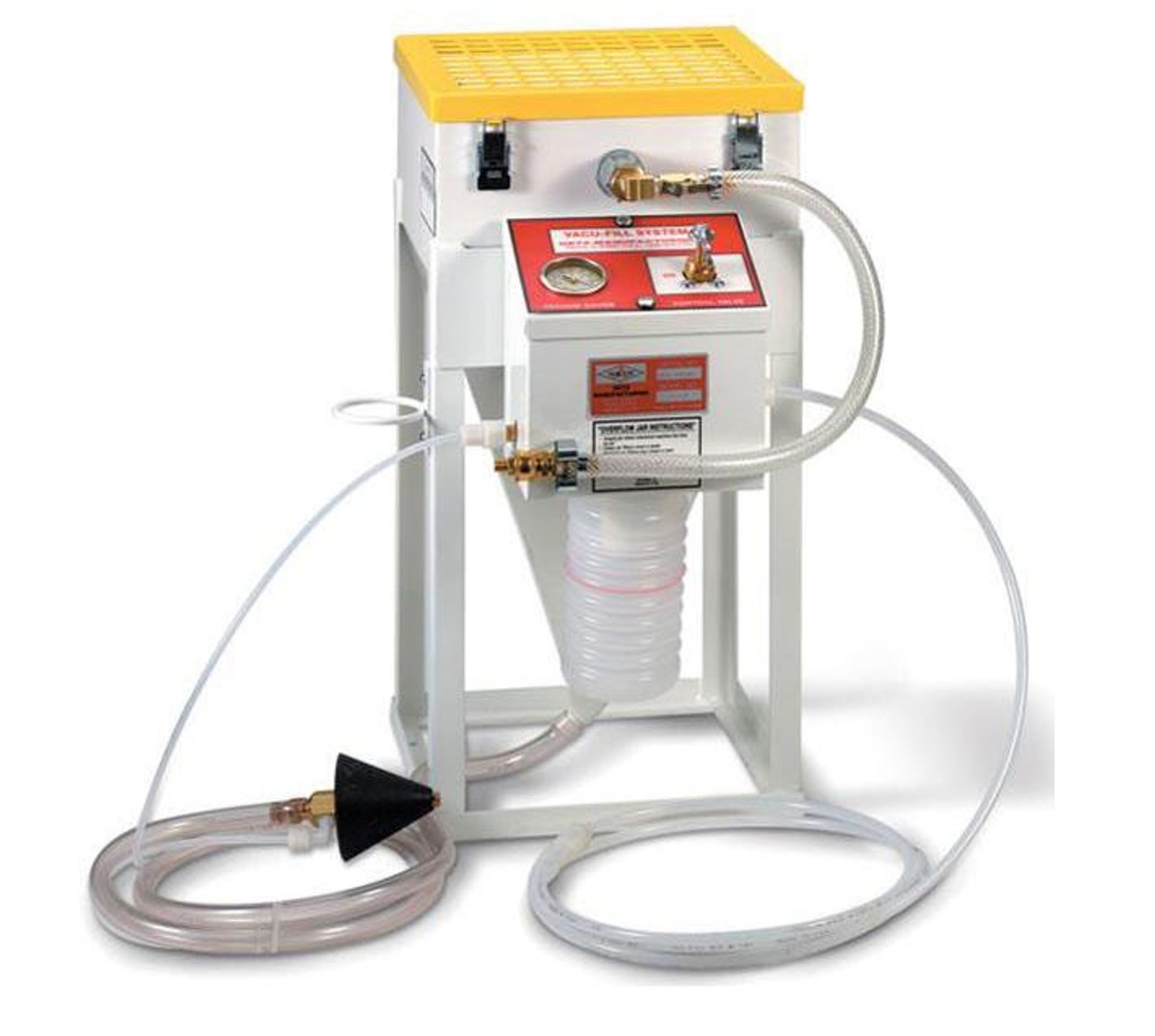 Getz Vacu-Fill Dry Chemical Filling System - 100 LBS