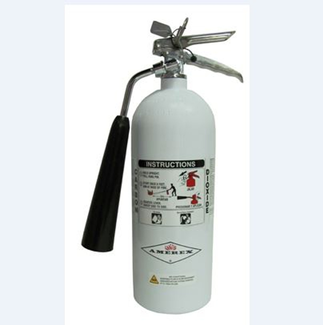 Amerex 322NM - 5 lb Carbon Dioxide (Co2) Fire Extinguisher - Nonmagnetic