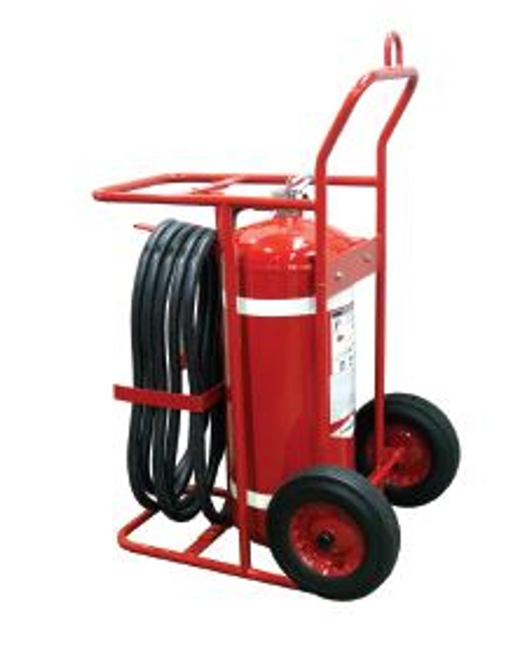 Amerex 674 - 150 LB Halotron Wheeled Fire Extinguisher
