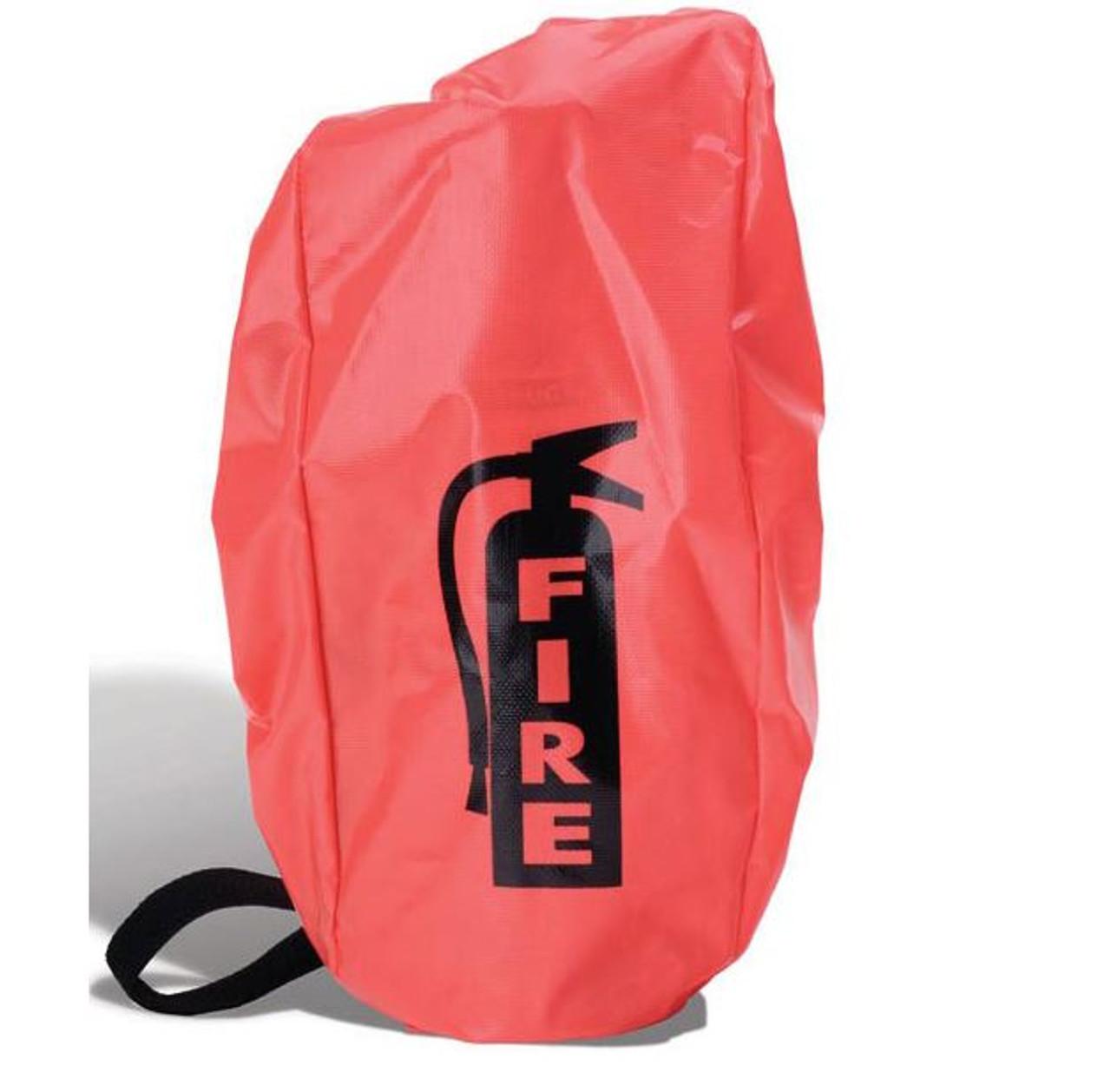 FEC5E - Small Fire Extinguisher Cover w/ Elastic,