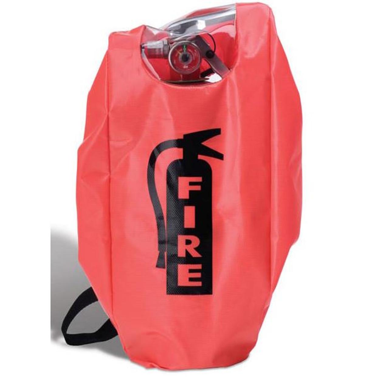 FEC5EW - Small Fire Extinguisher Cover w/ Elastic & Window