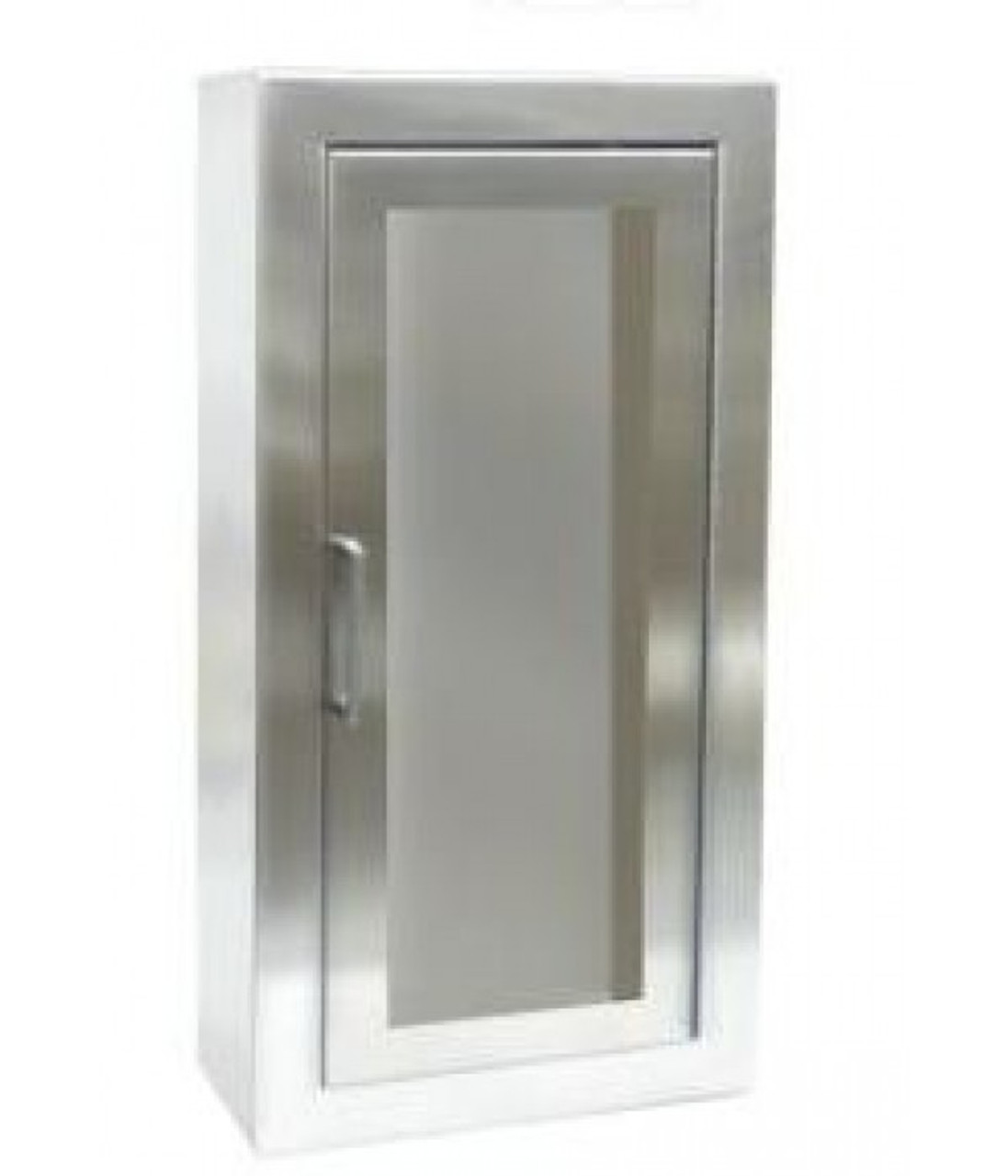 1033F10 - Stainless Steel Surface Mounted Cabinet