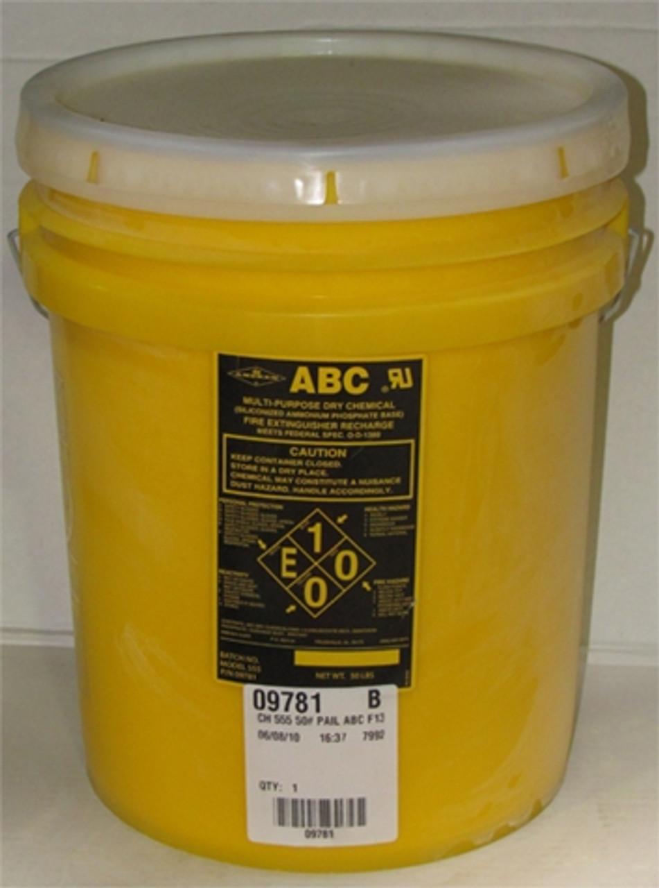 Amerex 555 - CH 550 50# PAIL ABC