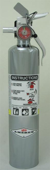 Amerex B417T - 2.5 lb ABC Extinguisher (Vehicle) 1A:10B:C
