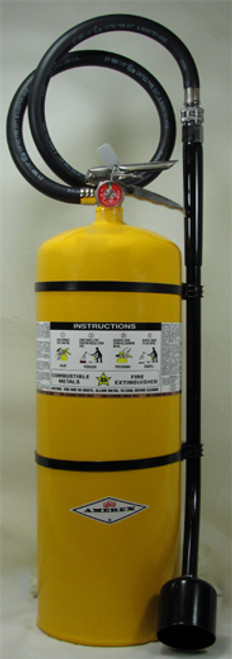 Amerex B571 - 30 lb Class D Copper Fire Extinguisher