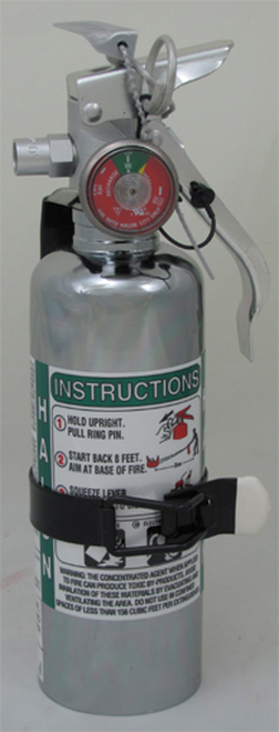 Amerex A344T - 1.25 lb Halon 1211 Fire Extinguisher