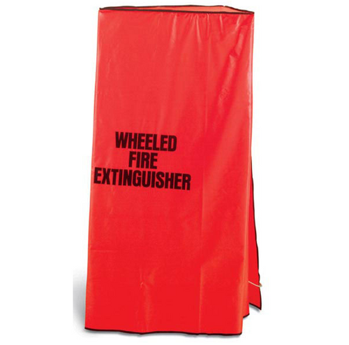 WUC6 - 50 & 75 lb CO2 Heavy Duty Wheeled Fire Extinguisher Cover