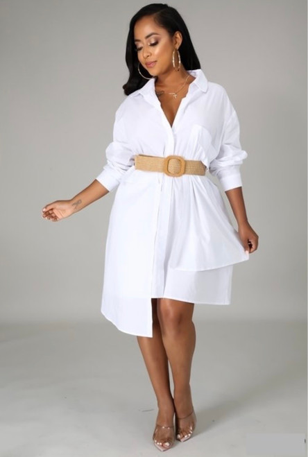 Oversize Shirt Dress