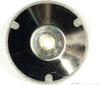 """5"""" Electroplated Convex Silver Blade"""