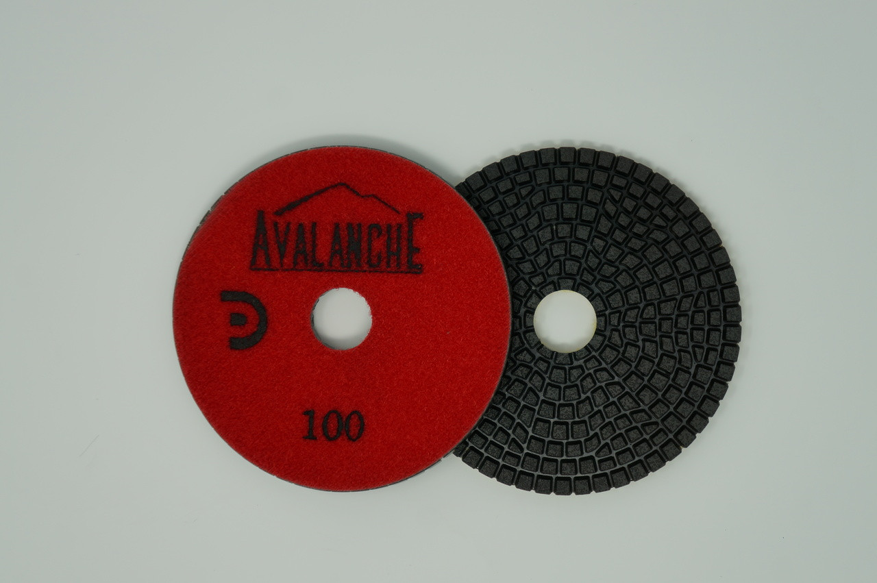 "Avalanche 4"" Premium 7-Step Polishing Pads"