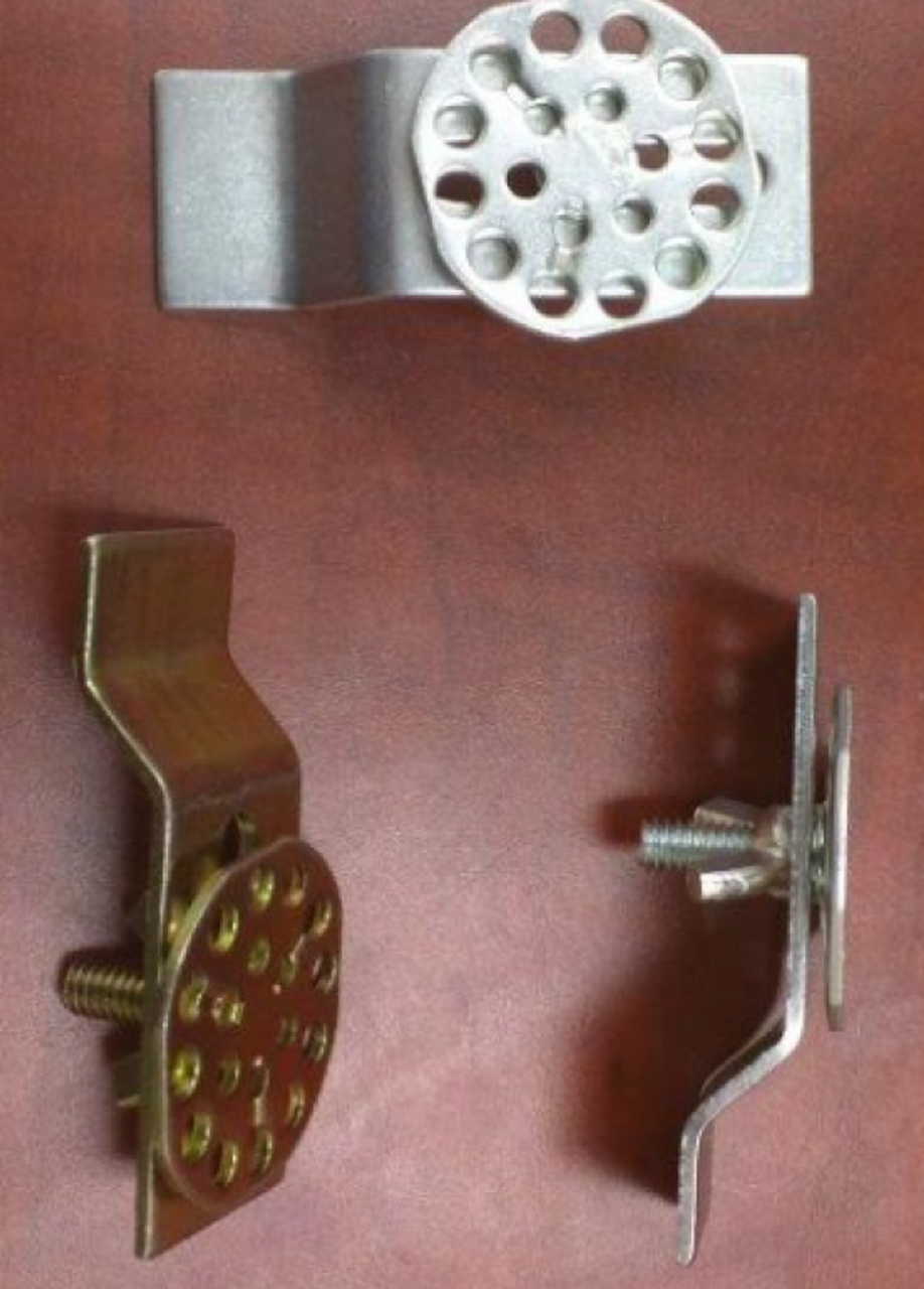 Sink Anchors Honeycomb Wafer with Stud, Nut & Bracket