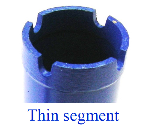 Thin Wall Core Bit (Blue Color)