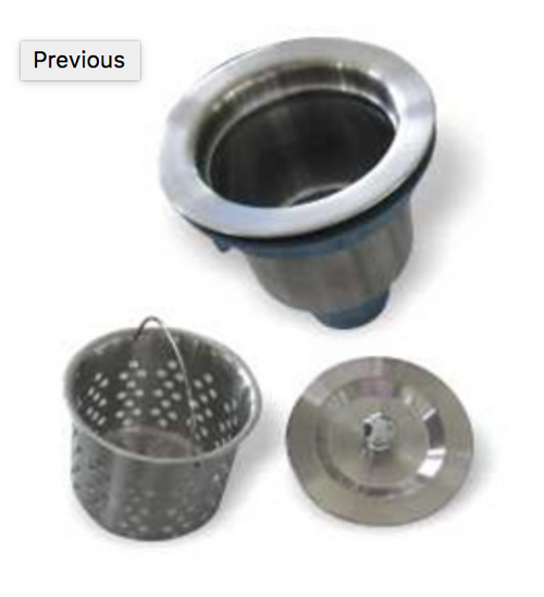 Stainless Deluxe Strainer