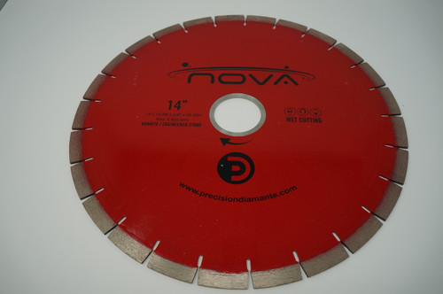 "Nova 14"" Rail Saw Blade 15mm"