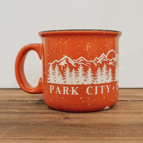 Coral Camper Mug