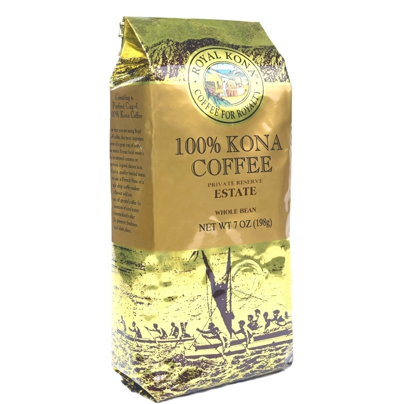 estate medium roast kona coffee