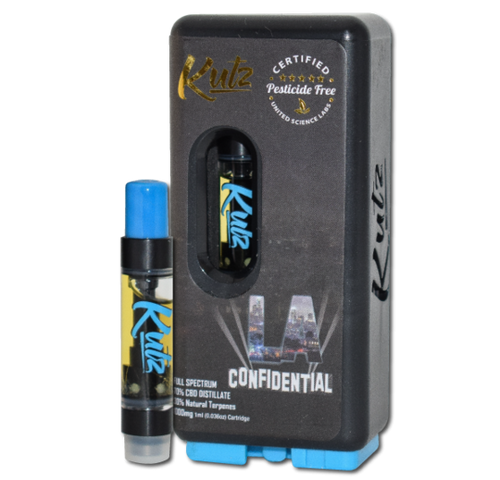 CBD Distillate - LA Confidential Prefilled 1g Cartridge