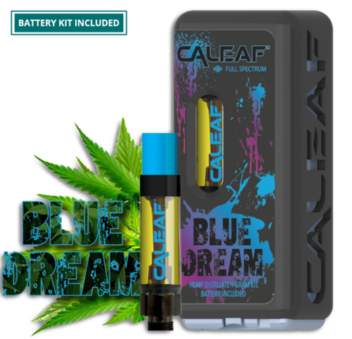CBD Distillate - Blue Dream Prefilled 1g Cartridge