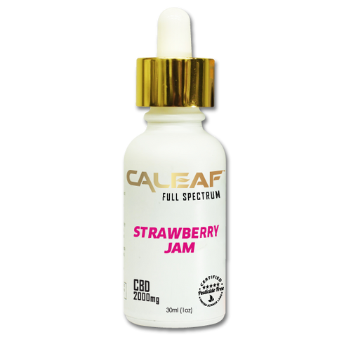 Strawberry CBD Tincture - 2000mg