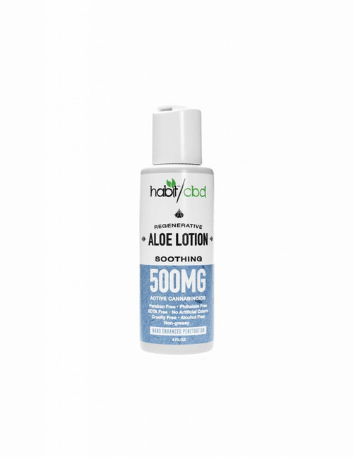 Habit CBD Aloe Lotion (4oz)