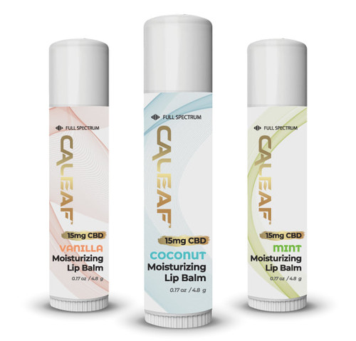 Caleaf Moisturizing Lip Balm - 15MG $8.00