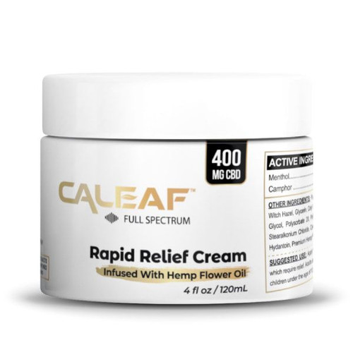 Rapid Relief Cream - 400MG
