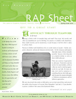 NH RAP Sheet Spring 2010: Off to a Great Start