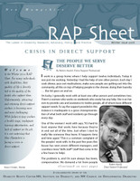 NH RAP Sheet Winter 2016: Crisis in Direct Support