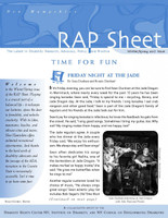 NH RAP Sheet Winter/Spring 2017: Time for Fun
