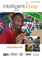 (DIGITAL DOWNLOAD VERSION For Early Childhood Programs, K-12 Schools, and Non-Profit Organizations) Intelligent Lives cover images featuring Naieer, with smaller images of Micah, Naomi, and Chris Cooper with son Jesse