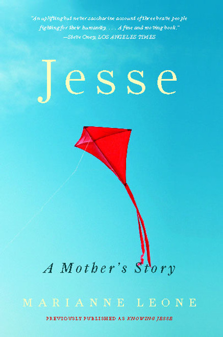 Cover image of Jesse, red kite flying in blue sky