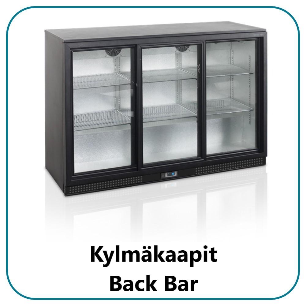 Kylmäkaapit Backbar