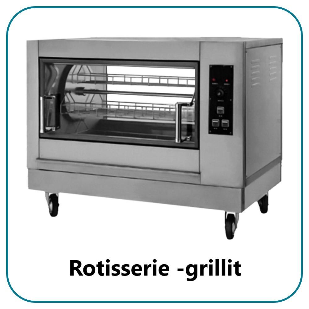 Rotisserie -grillit