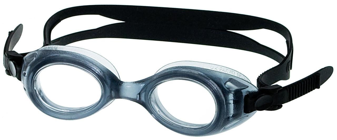 [6-10 yrs] Kids Prescription Swim Goggles S7 (Custom Made to Prescription) - Black
