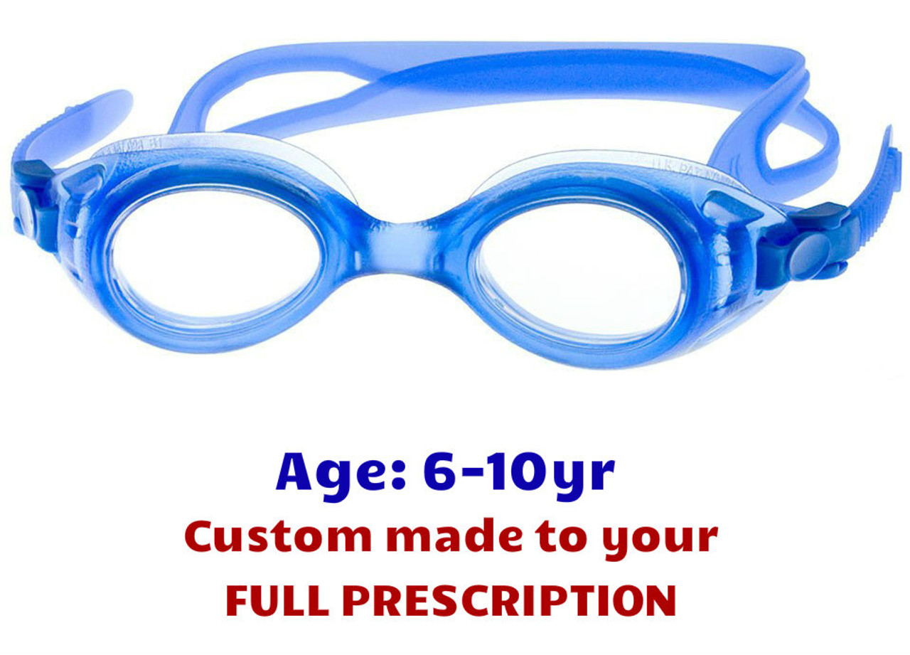 df4930cc72 Kids Swimming Goggles with Taylor Made Lenses S7 - Blue - Goggles n More